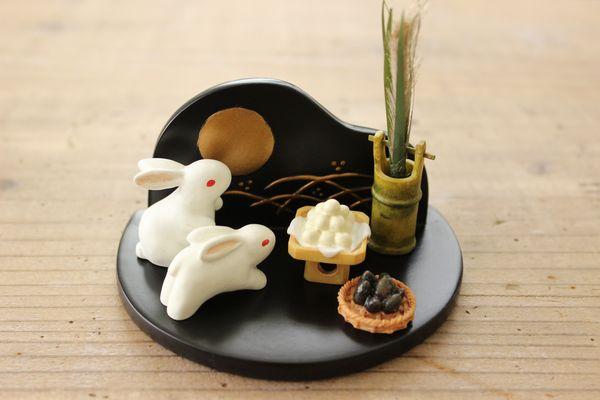 Bánh Tsukimi-dango – món ăn Trung Thu của Người Nhật Bản